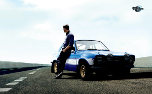 Paul Walker in Fast & Furious 6 Wallpaper