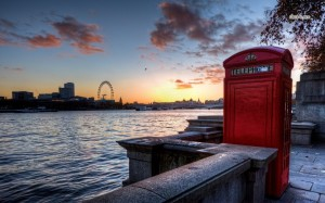 Telephone booth London Wallpaper HD