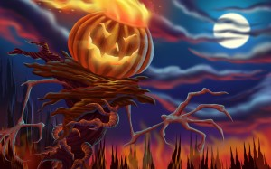 Gosht Halloween HD Wallpaper