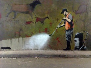 Street Art Bansky Wallpaper