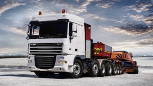 DAF XF Truck Wallpaper HD