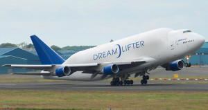 Dreamlifter Boeing 747-400LCF Wallpapers