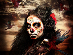 La Calavera Catrina Wallpaper HD