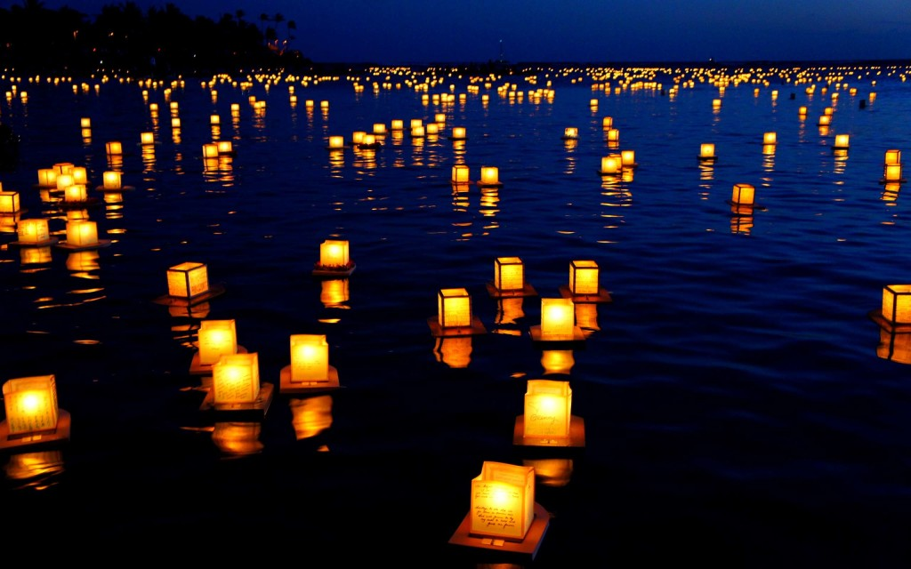 Lanterns HD Wallpaper