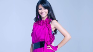 Purple Dress Victoria Justice 2014 Wallpaper