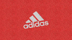 Adidas Red Background Wallpaper PC