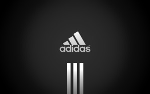 Black Adidas Logo Wallpaper HD
