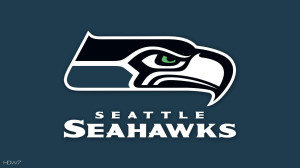 Seattle Seahawks Background Logo Wallpaper