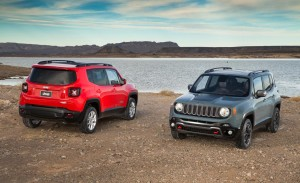 2015 Jeep Renegade Latitude and Trailhawk HD Wallpaper