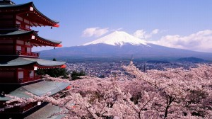 Beautiful Fuji Mountain HD Wallpaper