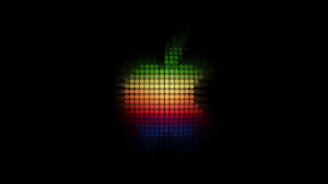 Colorfull Rainbow Apple Background