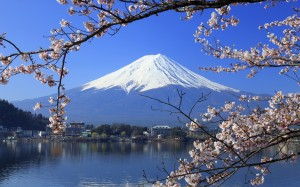 Fuji Mountain Background Wallpaper